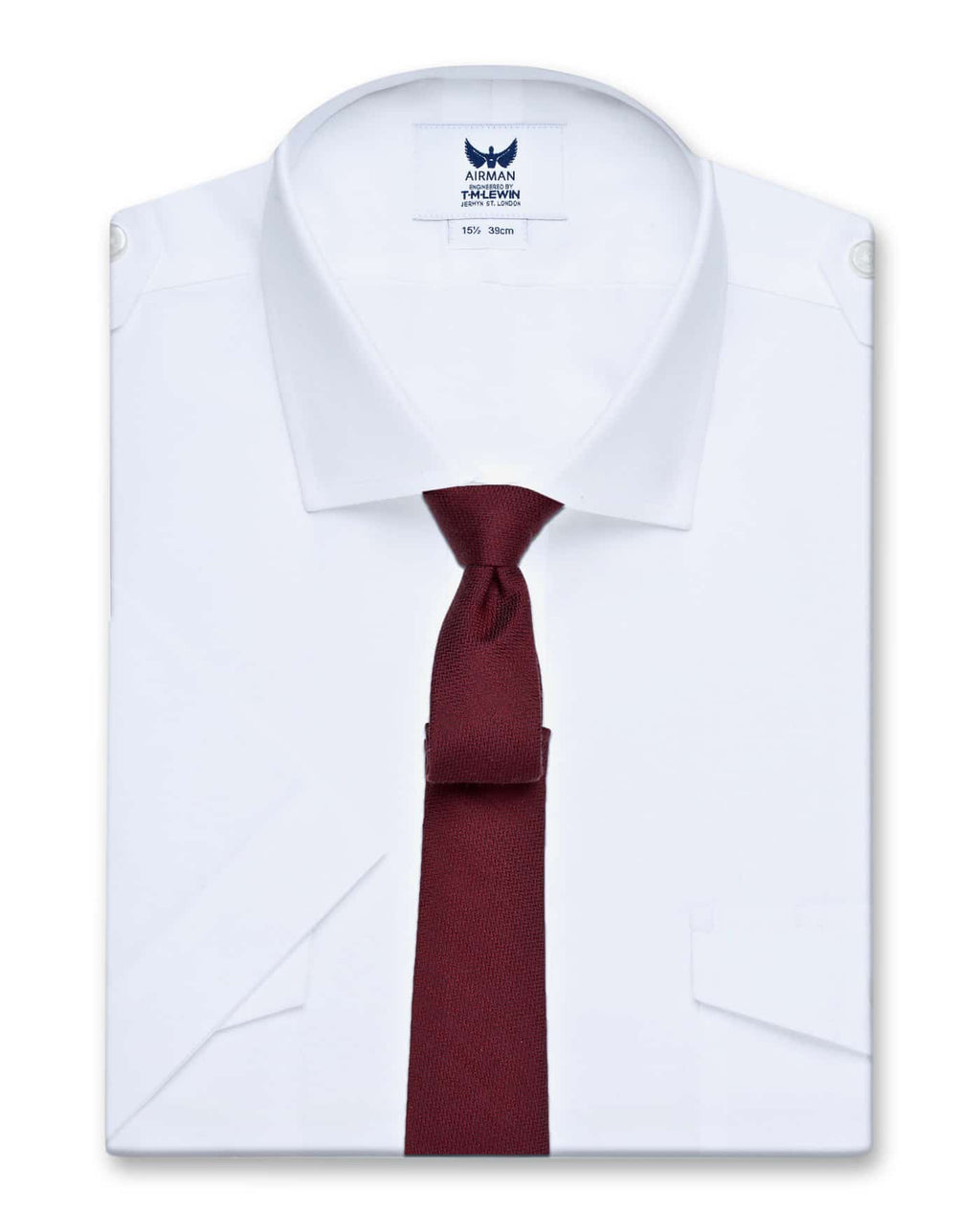 Henshaw 100% cotton pilot shirt