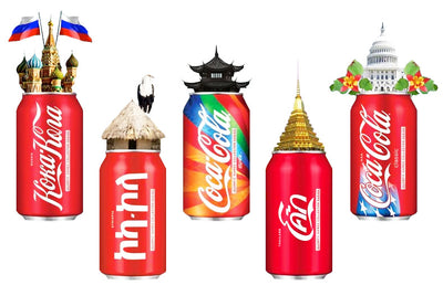 COCA-COLA - THE DRINK THAT UNITES THE WORLD