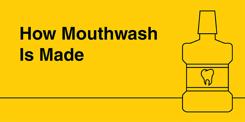 HOW MOUTHWASH IS MADE