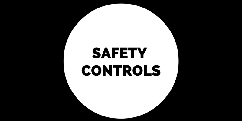SAFETY CONTROLS ON INDUSTRIAL MIXERS AND STAINLESS TANKS