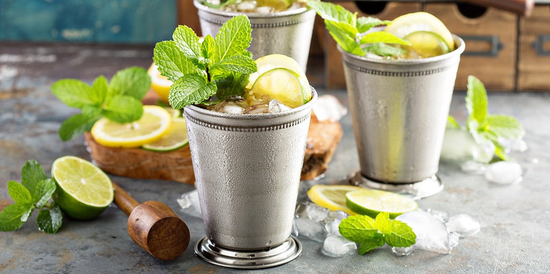 HOW TO MAKE A PERFECT MINT JULEP FOR DERBY