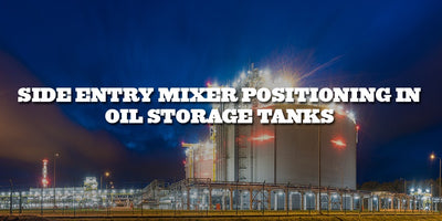 SIDE ENTRY MIXER POSITIONING IN OIL STORAGE TANKS