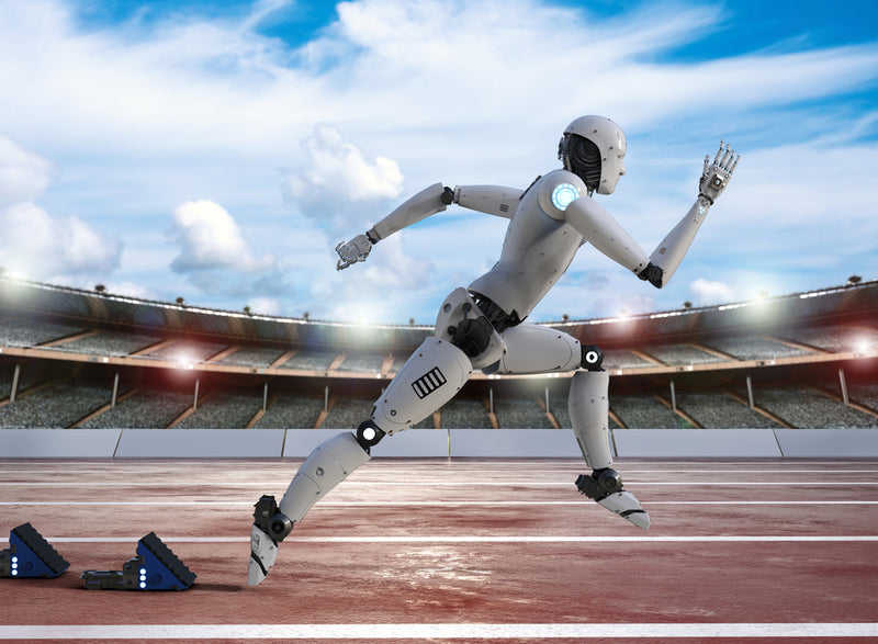 ARE ROBOTS THE ATHLETES OF THE FUTURE?