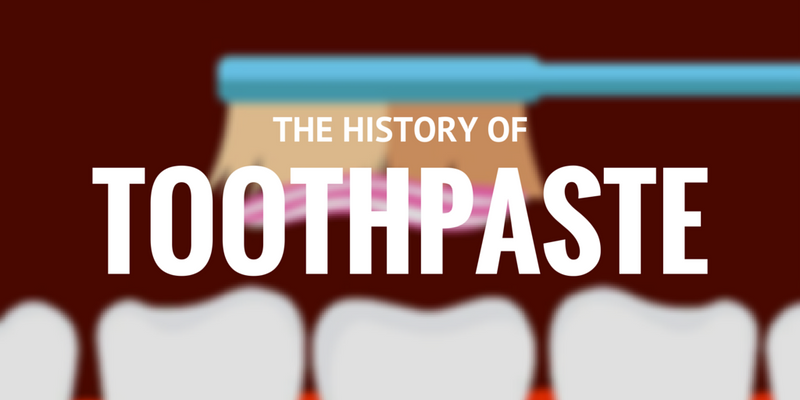 THE HISTORY OF TOOTHPASTE