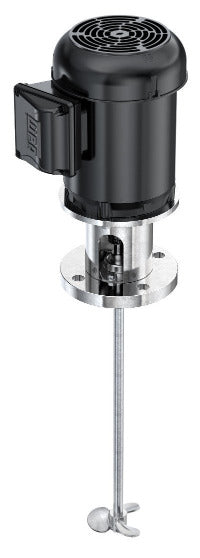 Direct Drive Impellers : Hp electric direct drive flange mount mixer