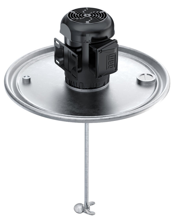 1/2 HP Explosion Proof Direct Drive Drum Lid Mount