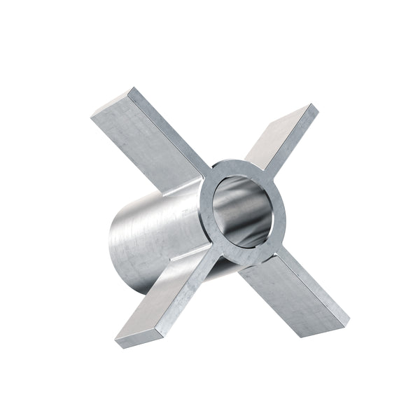 1 5 Quot Radial Lab Impeller 3 8 Quot Bore Stainless Steel