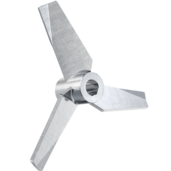 3 inch hydrofoil impeller with 1/2 inch bore