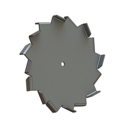 Dispersion Blade, 6in Dia, 3/8in CH