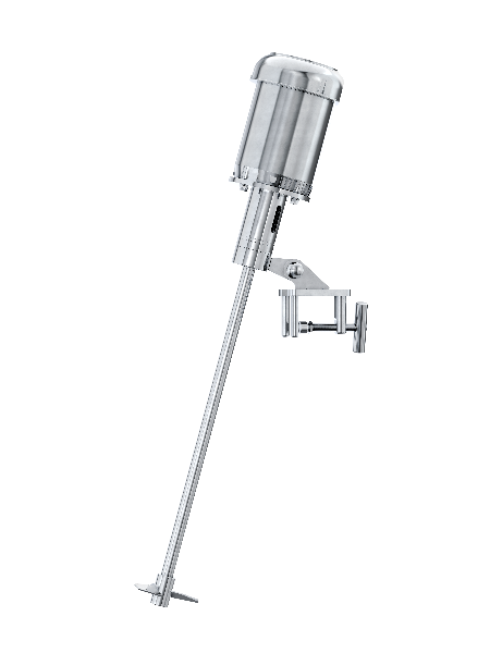 2 HP Electric Direct Drive Stainless Steel Clamp Mount Mixer