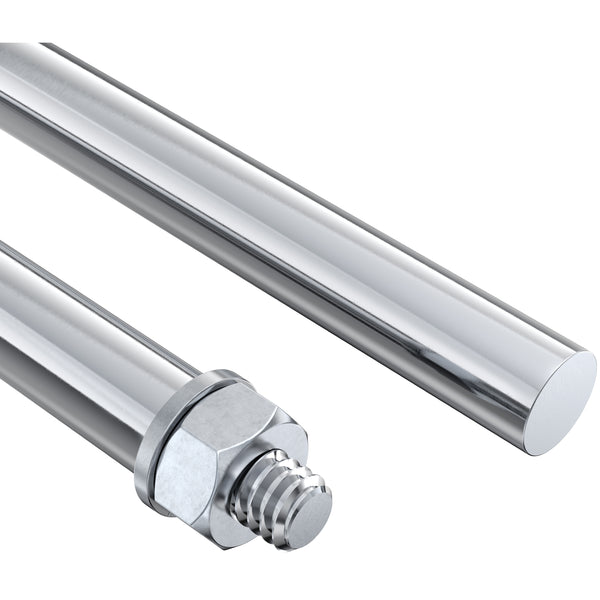 "12"" Stainless Steel Threaded Shaft Adapter"