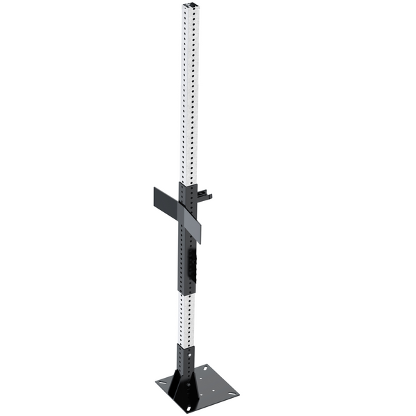 Stationary Mount Mixer Stand, Manual Lift