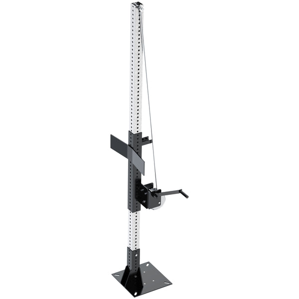 Stationary Mount Mixer Stand, Winch Lift