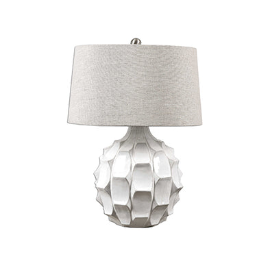 White Guerina Lamp