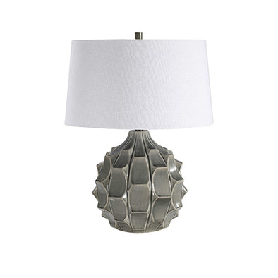 Grey Guerina Lamp