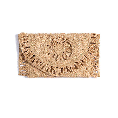 Graziella Clutch in Natural