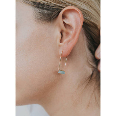Amazonite Gemstone Drop