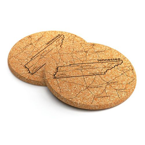 Tennesse Cork Coasters