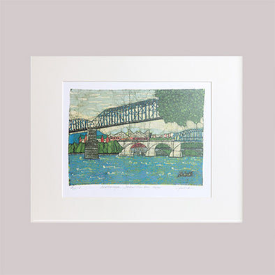 Un-Framed Chattanooga Art Print