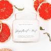 Apothecary Grapefruit + Mint Soy Candle
