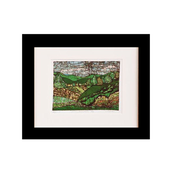 Green Landscape Art Print