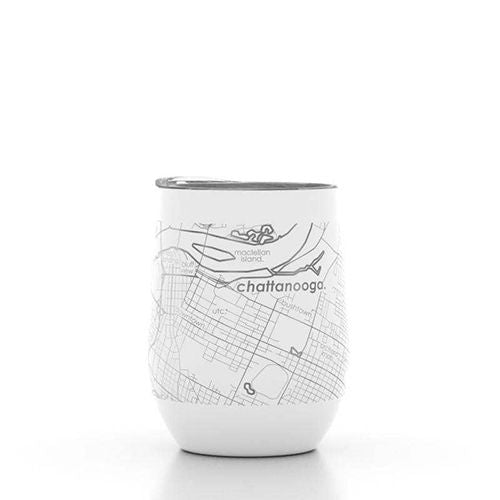 Chattanooga Map Wine Tumbler