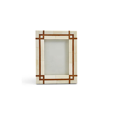 Bordered Frame w/ Wood Inset