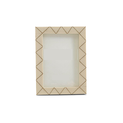 Brass Triangle Inlay Frame