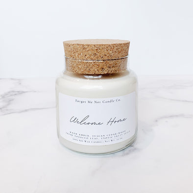 Apothecary Welcome Home Soy Candle
