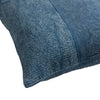 Washed Stripe Blue Pillow
