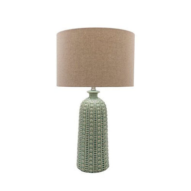 Green Newell Lamp