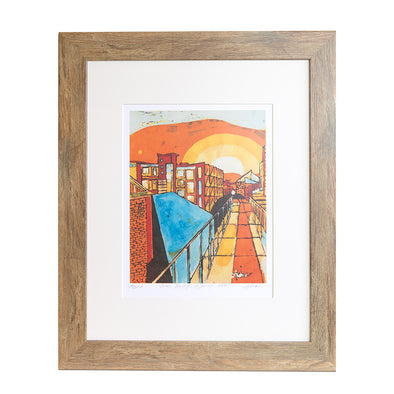 Glass Bridge Art Print