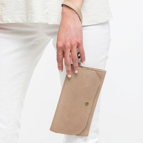 Mare Phone Wallet in Fog