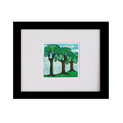 Spring Trees One Art Print