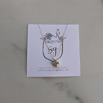Light Grey Meredith Necklace