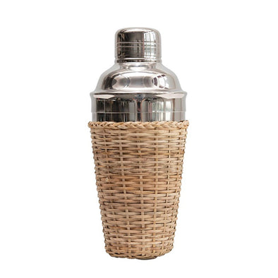 Cocktail Shaker with Woven Sleeve