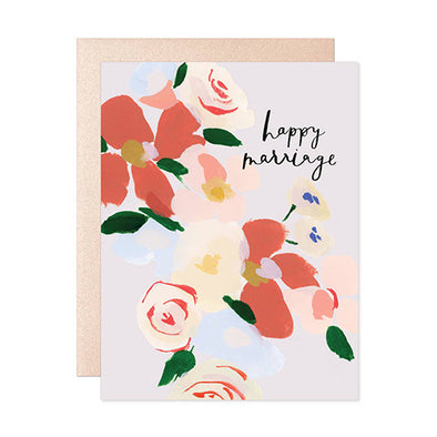 """Happy Marriage"" Card"