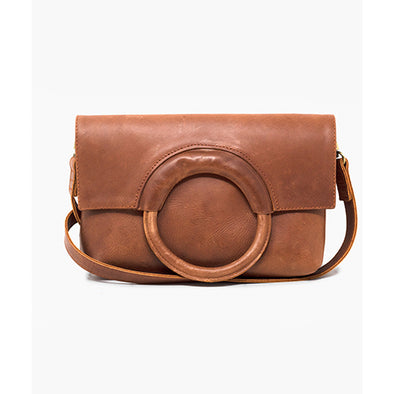 Fozi Ring Crossbody, Whiskey