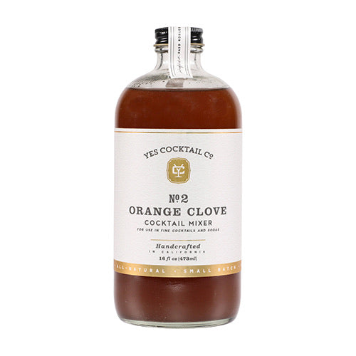 Old Fashioned Orange Clove Cocktail Mixer