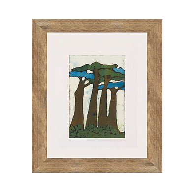 Four Trees Art Print