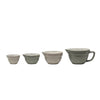 Grey Nesting Measuring Cups
