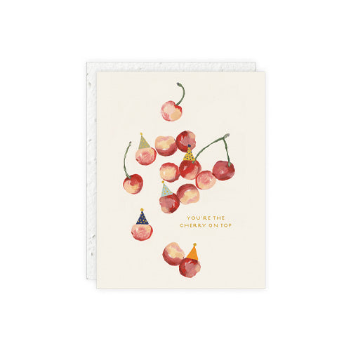 """You're the Cherry on top"" Card"