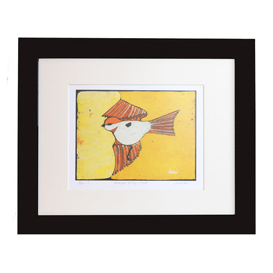 Yellow Bird Art Print