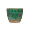 Large Green Tiled Pot