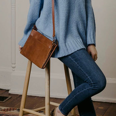 Martha Crossbody in Whiskey