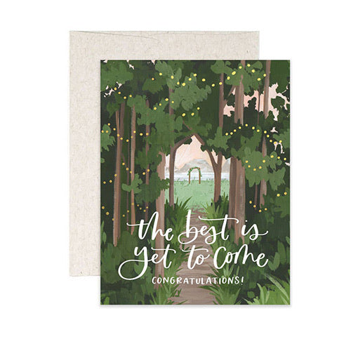 """The Best is Yet to Come"" Card"