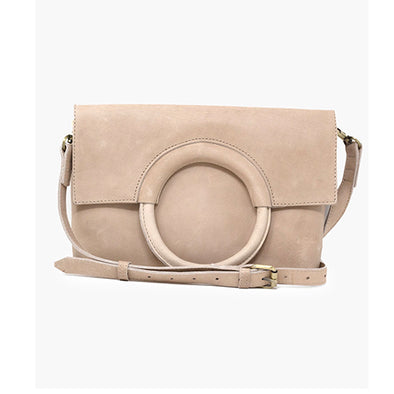 Fozi Ring Crossbody in Fog