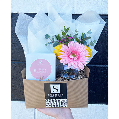 Flower Gift Box + Signature Bloom Candle