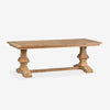 Teakwood Trestle Dining Table
