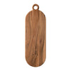 Oval Acacia Wood Board with Handle